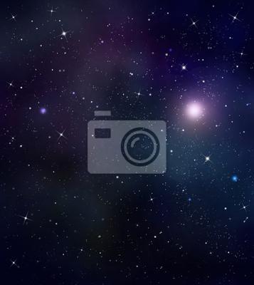 ciel nocturne étoilé espace intersidéral