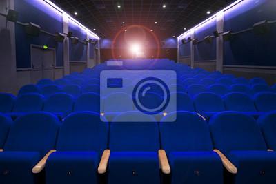 cinéma ou de théâtre sièges vides avec Projecton lumière