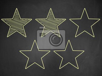 Cinq étoiles votes