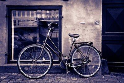 Image Classique Rétro vélo de ville à Copenhague, Danemark