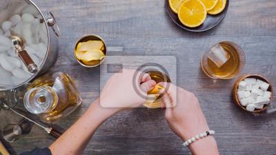 Cocktail à l'ancienne Bourbon