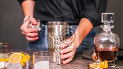 Cocktail aigre de whisky