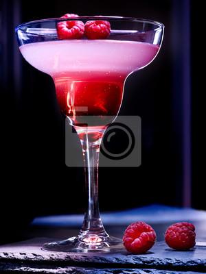 Cocktail Blueberry sur fond noir 72.