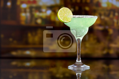 Cocktail margarita à la lime
