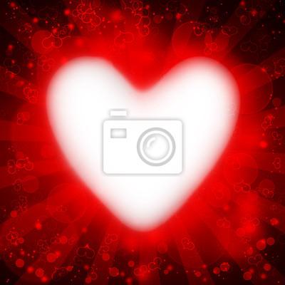 coeur, valentine s fond