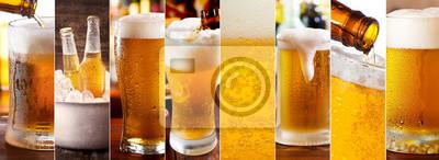 Collage de bière