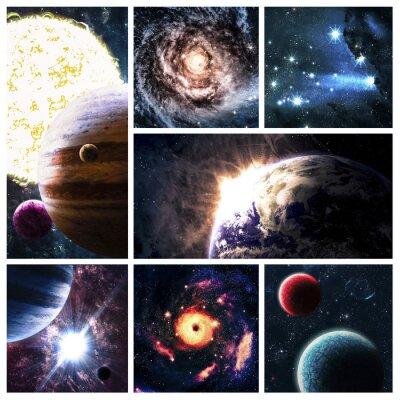 Image collage de l'espace