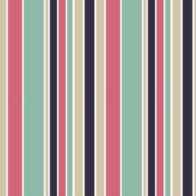 Image Coloré, vertical, rayures, seamless, vecteur, modèle, fond, Illustration