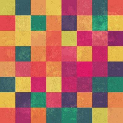 Image Coloré vintage background vecteur de rétro