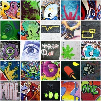 Image Composition graffiti art urbain
