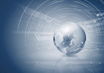 Image concept de la mondialisation