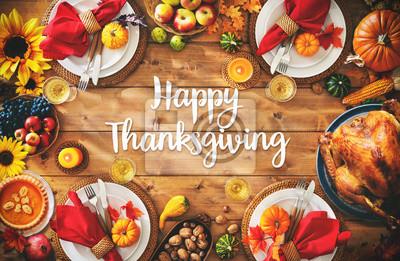 Image Concept de repas traditionnel souper fête de Thanksgiving