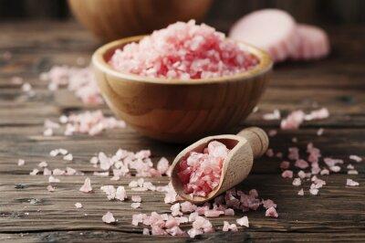 Image Concept, spa, traitement, rose, sel