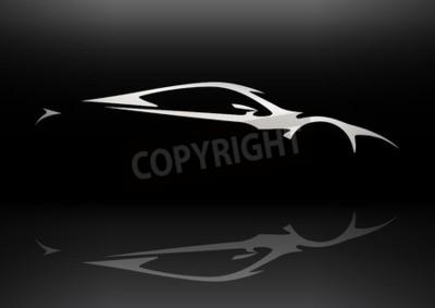 Image Concept Sportscar Véhicule Silhouette 06
