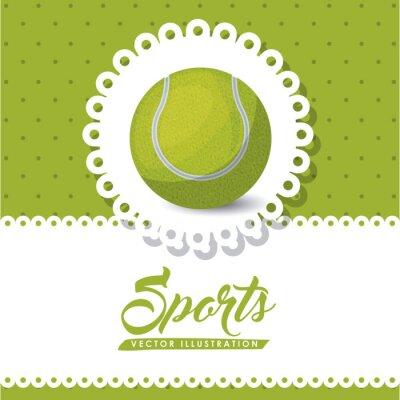 Image Conception de ligue de tennis