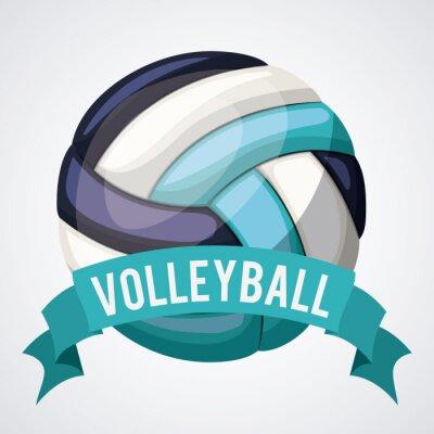 Image Conception de ligue de volleyball