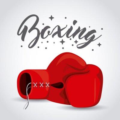 Image Conception de sport de boxe