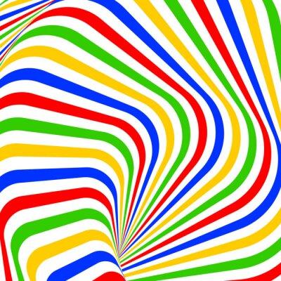 Image Conception tourbillon coloré mouvement sur fond d'illusion