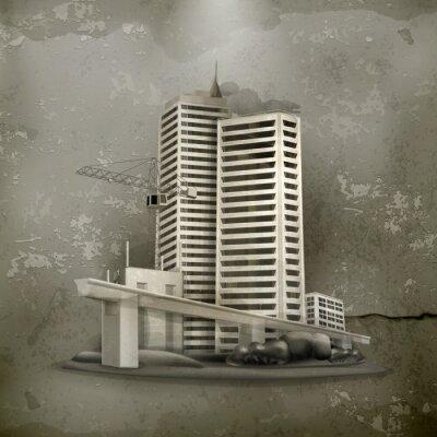 Image Construction de style ancien