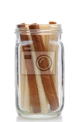 Cookies dans un pot de maçon