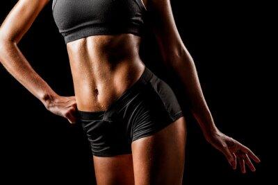 Image corps de la femme sportive