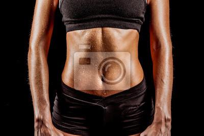 corps de la femme sportive