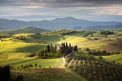 Image Countryside near Pienza, Tuscany, Italy