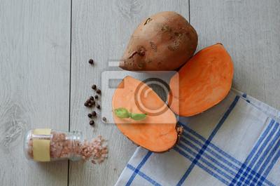 Coupe de la patate douce