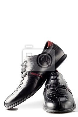 couple de chaussures noires