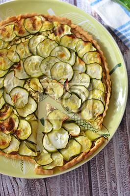Courgette tarte