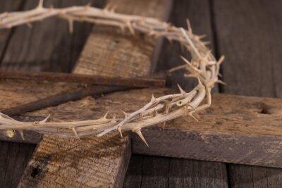 Image Couronne d'épines sur une croix