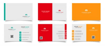 Image creative modern name card and business card