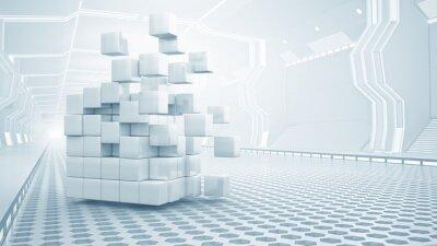 Image Cube, virtuel, salle