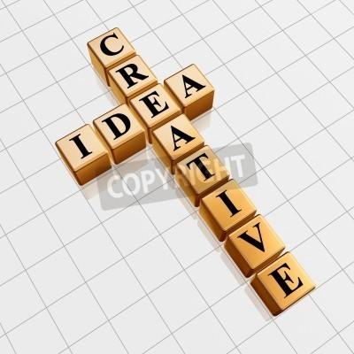 Image Cubes Dor 3d Avec Des Lettres Noires Comme Des Mots Croisés