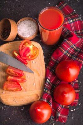 Cuisine de jus de tomate