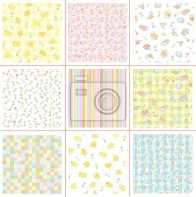 Cute patterns pour votre design, la flore et les oiseaux.