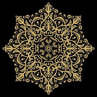 Image Damas motif oriental