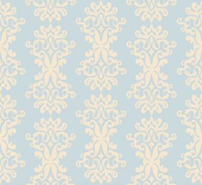 Image Damask  seamless pattern