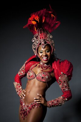 Image Danseur de Samba brésilienne