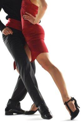 Image danseurs de tango elegnace