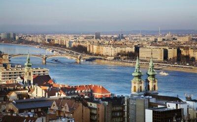 Image Danube à Budapest. Hongrie