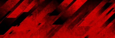 Image Dark red grunge stripes abstract banner design. Geometric tech vector background