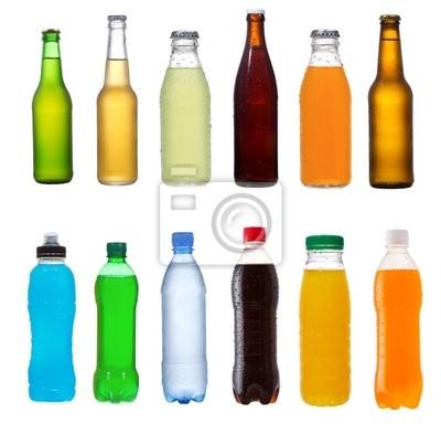 définir avec différentes bouteilles