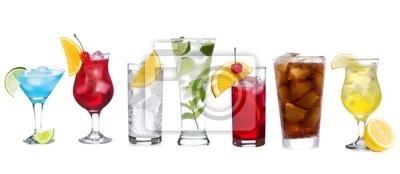 définir avec différents cocktails