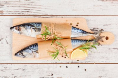 Image Délicieux poissons frais.