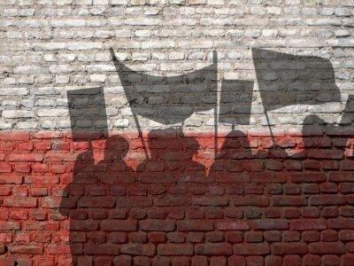 Image Démonstration en Pologne