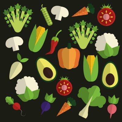 Image Design d'aliments biologiques