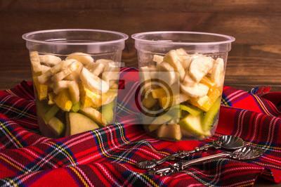 Dessert de fruits. Concept de régime