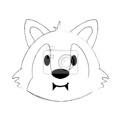 Dessin Anime Mignon Koala Icone Vector Illustration Design Graphique