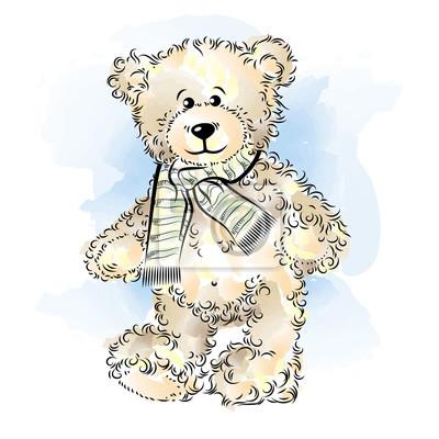Dessin de nounours en peluche - Dessin ours en peluche ...